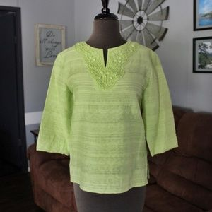 Alfred Dunner Top Size 6 Petite